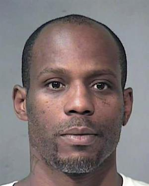 Rapper DMX, whose name is Earl Simmons, is shown in this August 2011 booking photo in Phoenix provided by the Maricopa County Sheriff's Office. Simmons was arrested by Arizona Department of Public Safety officers Wednesday, Aug. 24, 2011, for speeding at 102 mph. Simmons was cited for criminal speed, driving on a suspended and revoked license and reckless driving. (AP Photo/Provided by the Maricopa County Sheriff's Office)