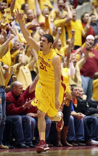 No. 6 Kansas rallies past Iowa State in OT 108-96