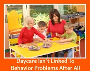 Daycare Isn't Linked To Behavior Problems After All