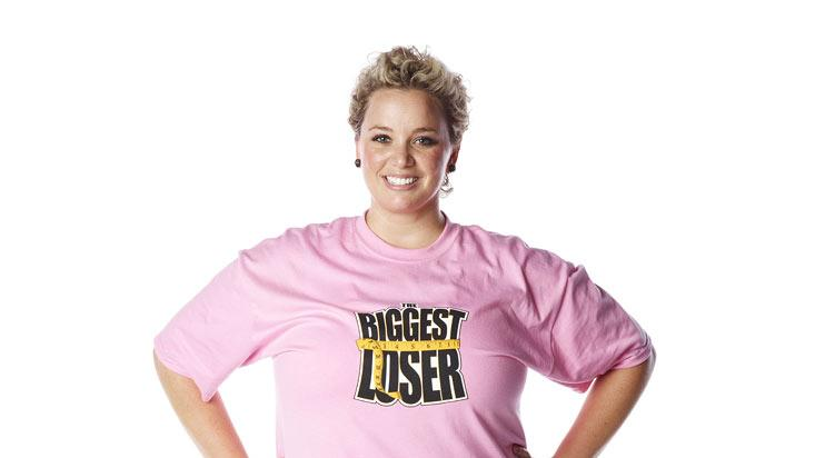 "Emily Joy competes on the 13th season of ""The Biggest Loser."""