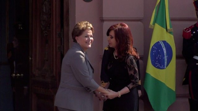 Rousseff y Kirchner reunidas