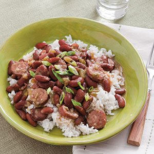 Try our lightened version of a classic-Stovetop Red Beans and Rice.