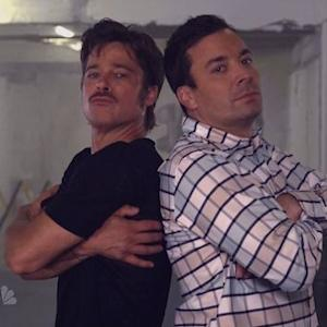 Brad Pitt and Fallon's Breakdance Conversation is Everything