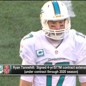 NFL Media's Jeff Darlington: Miami Dolphins believe quarterback Ryan Tannehill is face of franchise