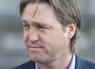 FILE - In this Nov. 29, 2010, file photo, Patrick Roy attends the funeral of former NHL hockey coach Pat Burns in Montreal. The Colorado Avalanche announced Thursday, May 23, 2013, that they hired Roy as their new head coach. (AP Photo/The Canadian Press, Graham Hughes, File)