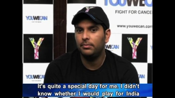 Yuvi thankful for second chance in life and cricket