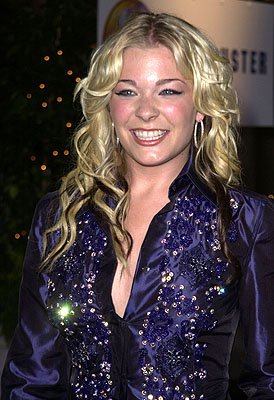 LeAnn Rimes Blockbuster Entertainment Awards Los Angeles, 4/10/2001