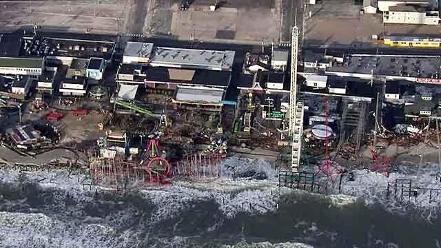 Dramatic new video reveals extent of Sandy's damage