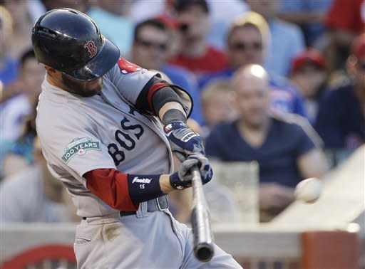Ortiz, Kalish lead Red Sox past Cubs
