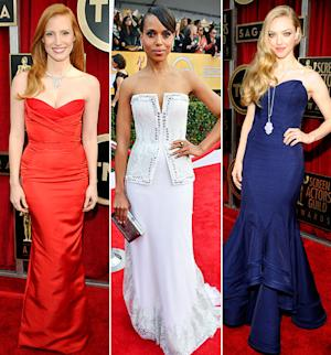 SAG Awards 2013: What the Stars Wore!