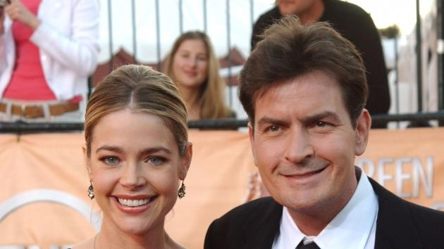 Denise Richards and Charlie Sheen in 2005  -- Getty Premium