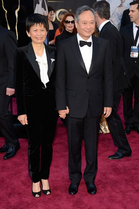 85th Annual Academy Awards - People Magazine Arrivals: Ang Lee and Jane Lin