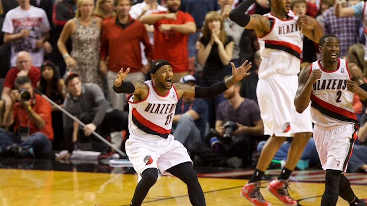 Wes Matthews' game-winning steal puts Blazers over Rockets in O…