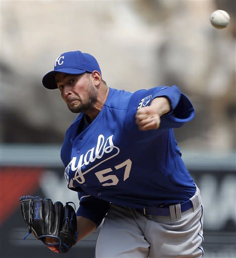 Hosmer leads Royals past Angels again