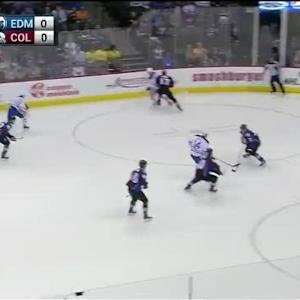Semyon Varlamov Save on Benoit Pouliot (02:53/1st)