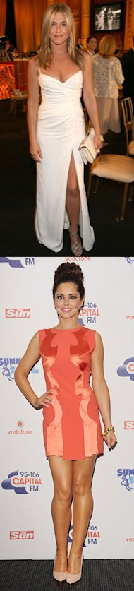 Week&#x002019;s Best Dressed: Cheryl Cole versus Jennifer Aniston