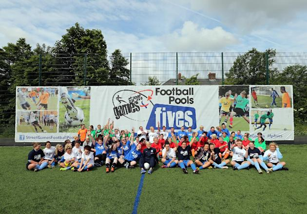 Soccer - Street Games Football Pools Fives - Newcastle Upon Tyne