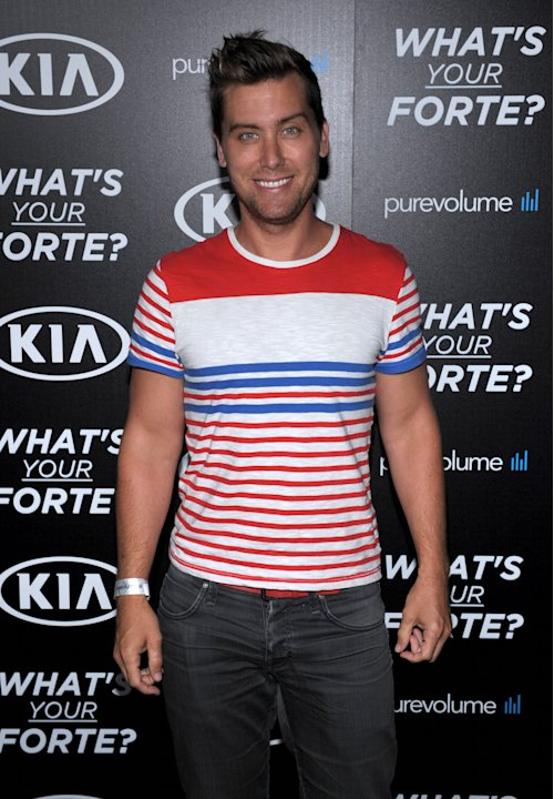 "Lance Bass attends the ""What's Your Forte?"" event presented by PureVolume and Kia Motors America at Create Nightclub on Tuesday, June 18, 2013, in Los Angeles. (Photo by John Shearer/Invision for Spin"
