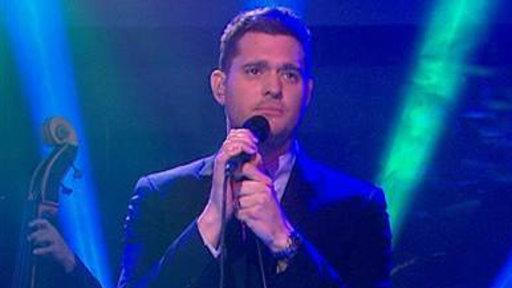 Michael Buble Serenades With 'Young at Heart'