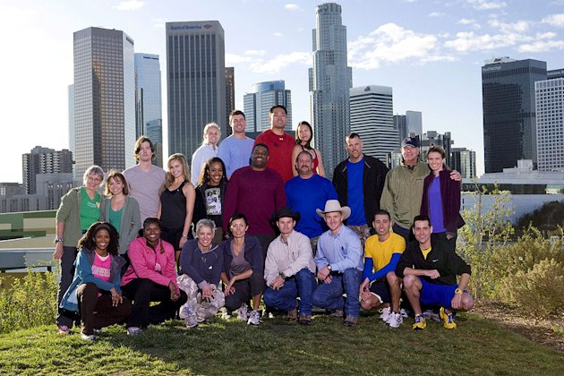 "The cast of ""The Amazing Race 16."""