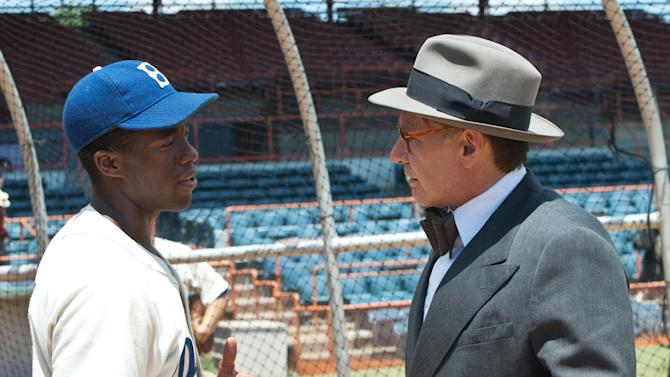 Jackie Robinson Day: '42' wins weekend with $27.5M