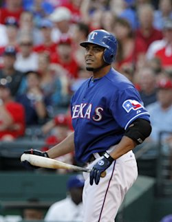 Rangers slugger Nelson Cruz was among the players suspended for ties to Biogenesis. (AP)