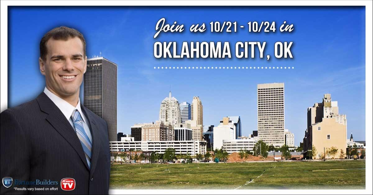 Free Event in Oklahoma City Area 10/21-10/24!