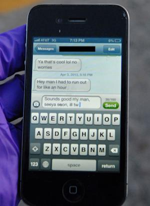 Parents hope photo of fatal text serves as warning