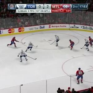 Jonathan Bernier Save on Max Pacioretty (02:08/2nd)