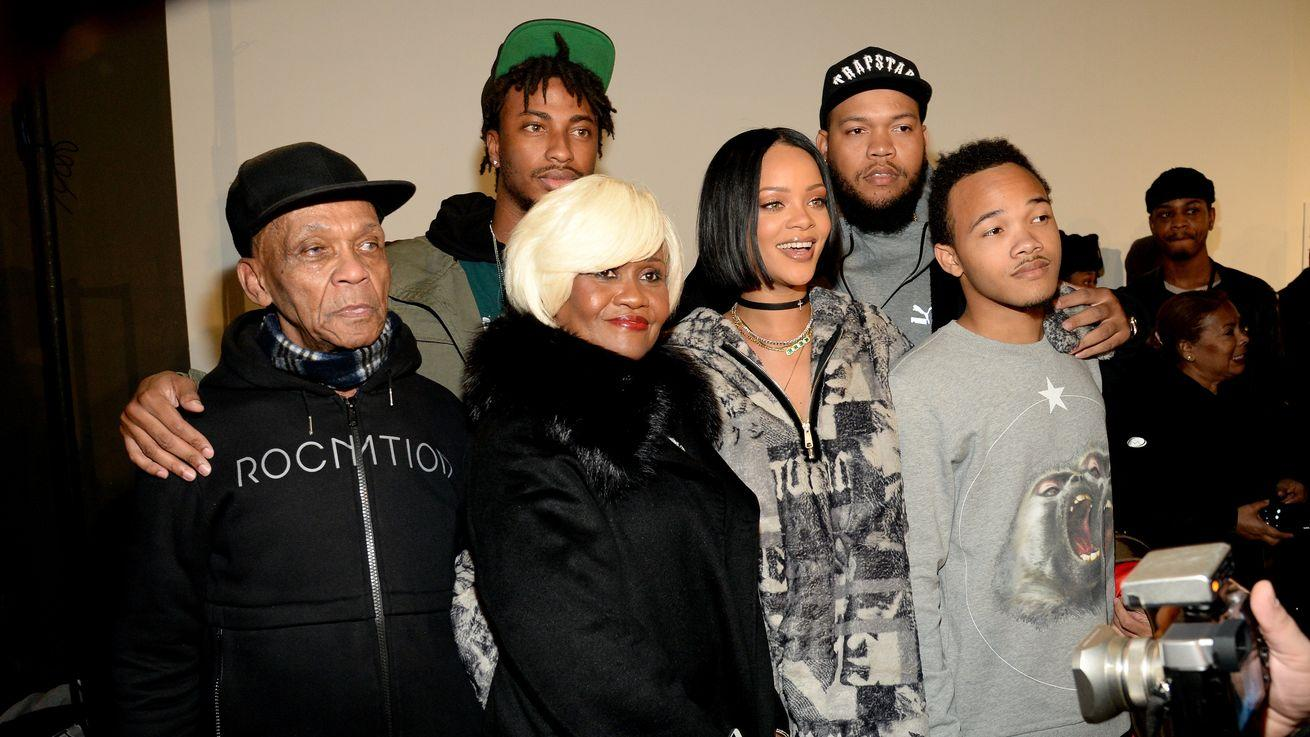 Rihanna Upstaged By Grandfather at Own Fashion Show