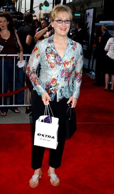 Meryl Streep at the Beverly Hills premiere of Paramount Pictures' The Manchurian Candidate