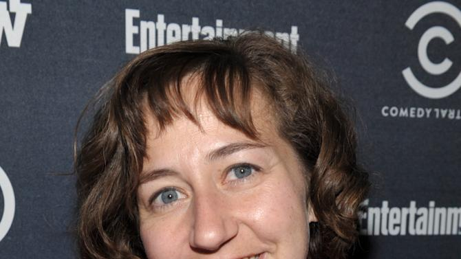"Actress Kristen Schaal attends an exclusive screening of Comedy Central's ""Kroll Show"" hosted by Entertainment Weekly on Tuesday, January 15, 2013 at LA's Silent Movie Theatre in Los Angeles. (Photo by John Shearer/Invision for Entertainment Weekly/AP Images)"