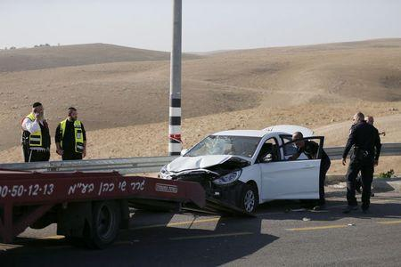 Two Palestinians ram cars into Israeli soldiers, shot dead