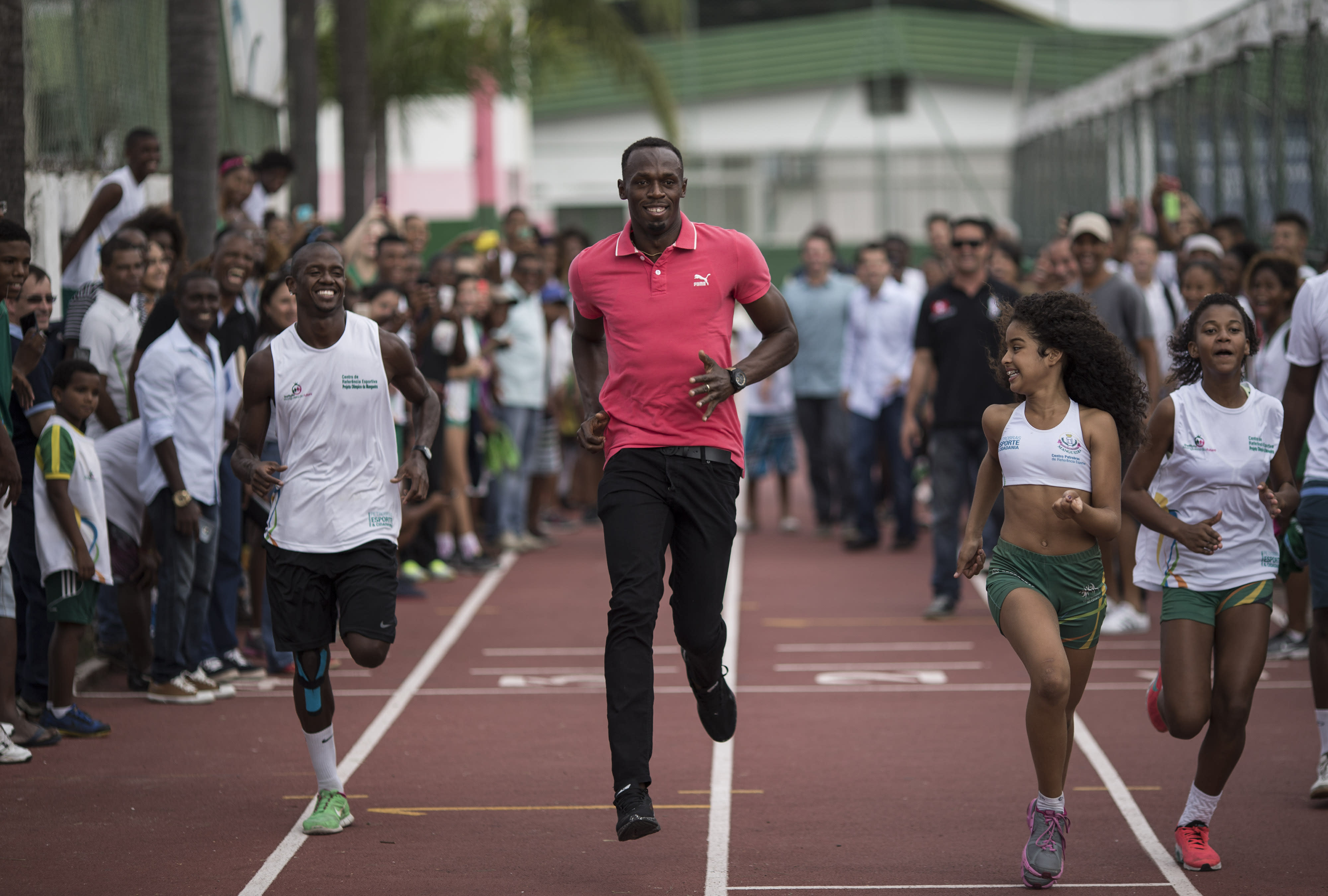 Bolt: 'At my best, it's ... almost impossible to beat me'