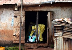 Amid a decline in a west African outbreak of Ebola …