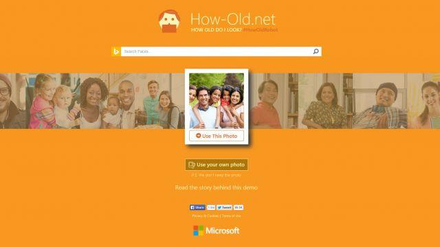 Microsoft creates app that guesses your age
