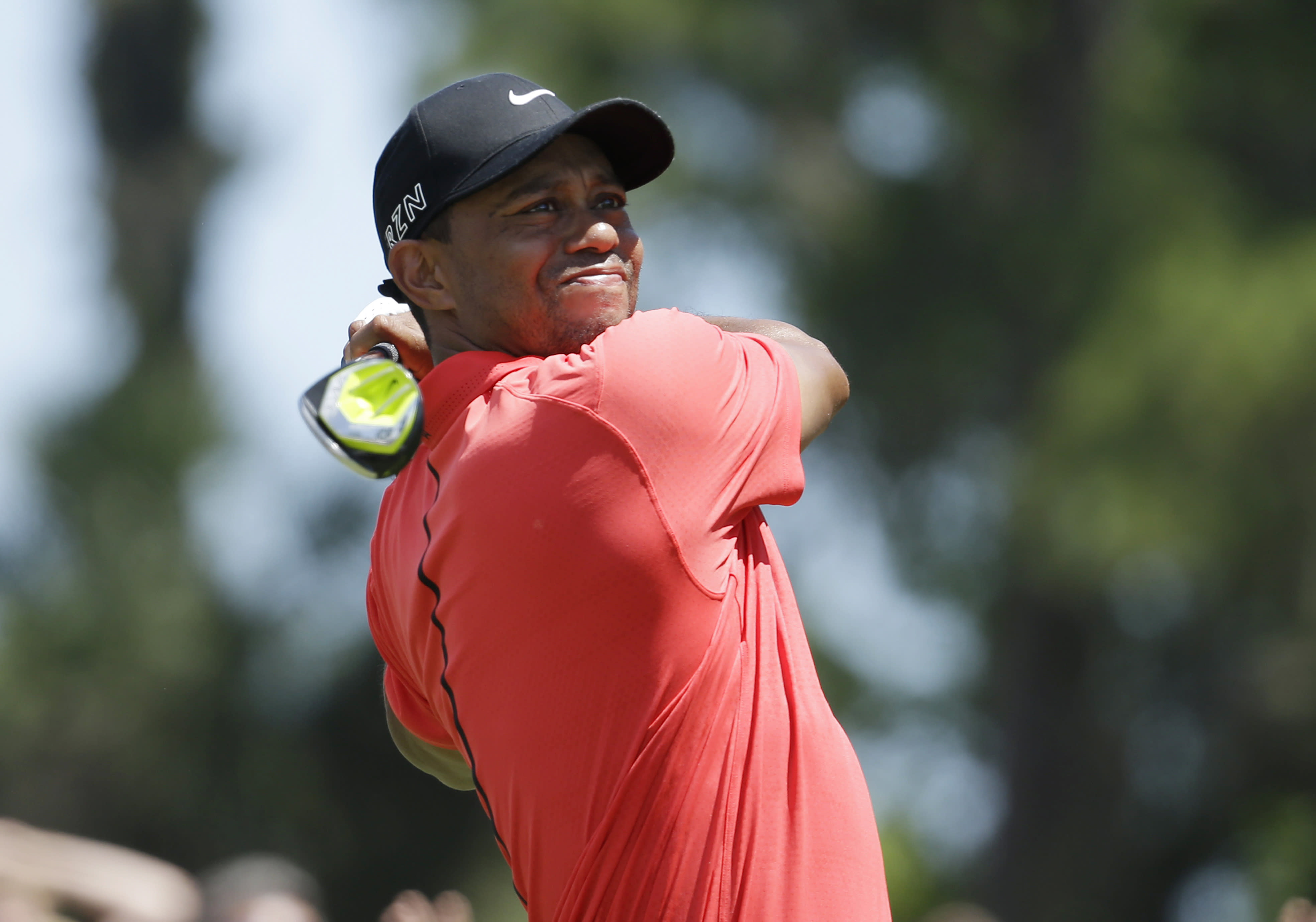 Tiger Woods is in Tacoma, preparing for the U.S. Open