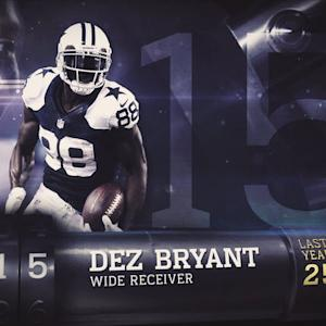 'Top 100 Players of 2015': No. 15 Dallas Cowboys wide receiver Dez Bryant