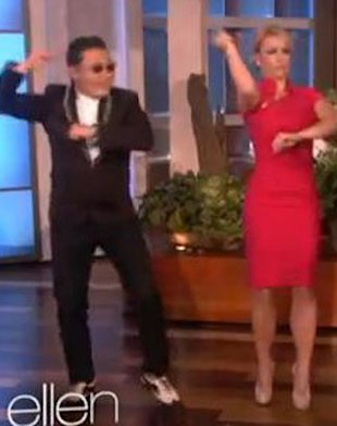 WATCH! Britney Spears & PSY Do The 'Gangnam Style' Dance On 'Ellen'