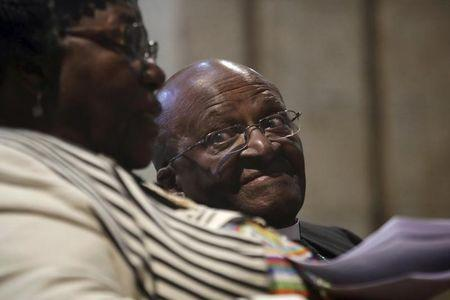 S.Africa's Tutu checks into hospital for infection