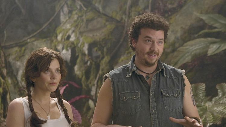 Land of the Lost Universal Pictures 2009 Production Photos Anna Friel Danny McBride