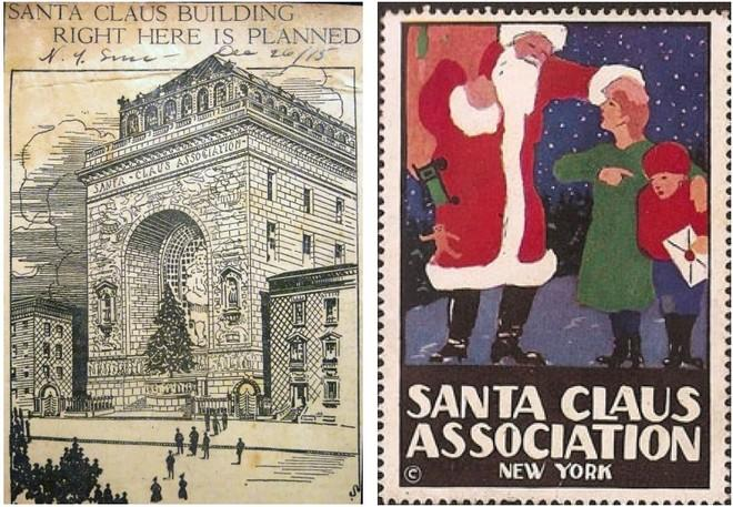 The Strange Story of NYC's 'Santa Claus Building' That Never Was