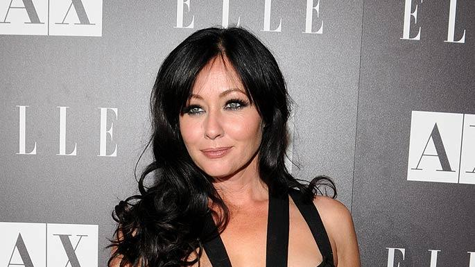 Shannen Doherty ELLE Disco Ball