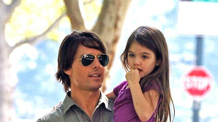 Tom Cruise Suri Cruise NY Playgground