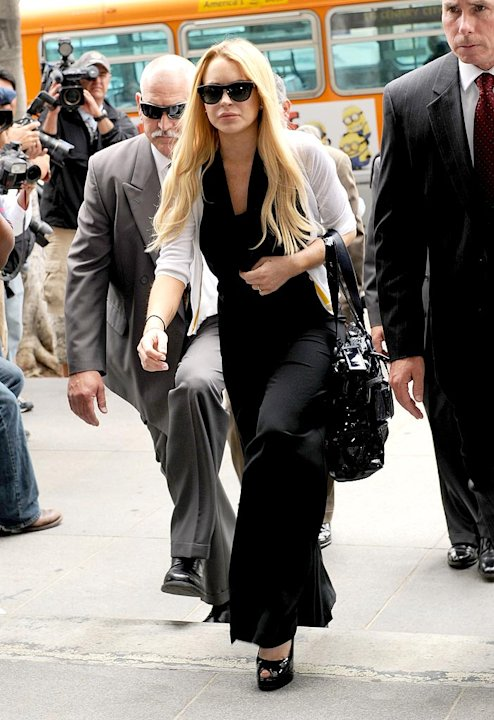 Lohan Lindsay Probation Hearing