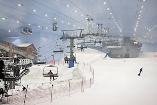 Ski Dubai, which is over 242,000 square feet, says it is