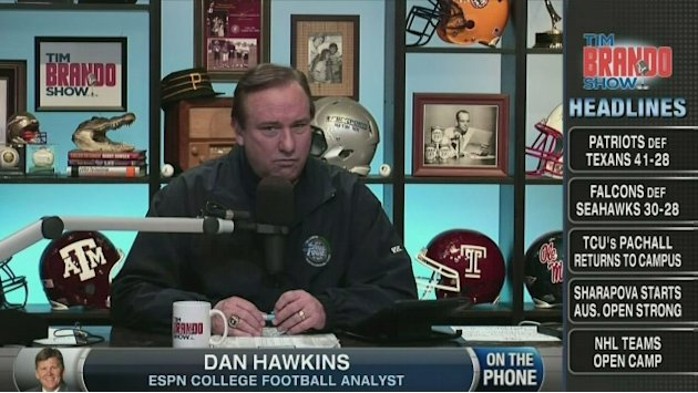 Dan Hawkins on Brian Kelly …