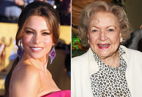 "SAG Nominee Sofia Vergara: I'll Be ""Upset"" if Betty White Beats Me!"