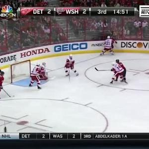 Jimmy Howard Save on Mike Green (05:11/3rd)