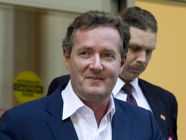 <p>               FILE - In this Dec. 20, 2011 file photo, Piers Morgan, host of CNN's